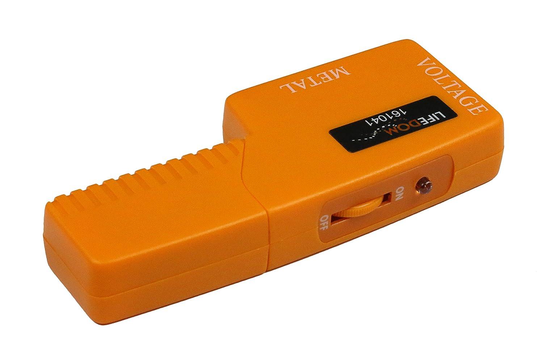 Detector de metal y de cable eléctrico para evitar perforaciones en canalizaciones y cables eléctricos: Amazon.es: Bricolaje y herramientas