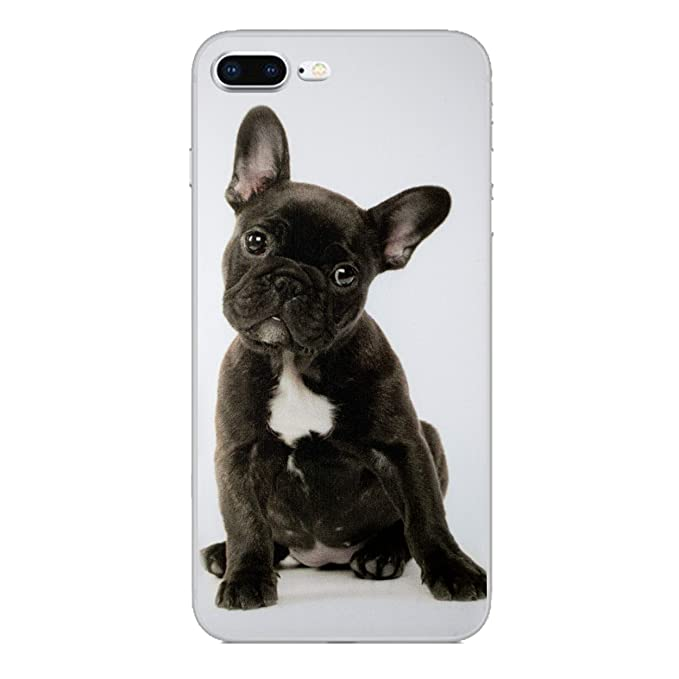 iPhone 7 Animal Divertido Estuche de Silicona/Cubierta de ...