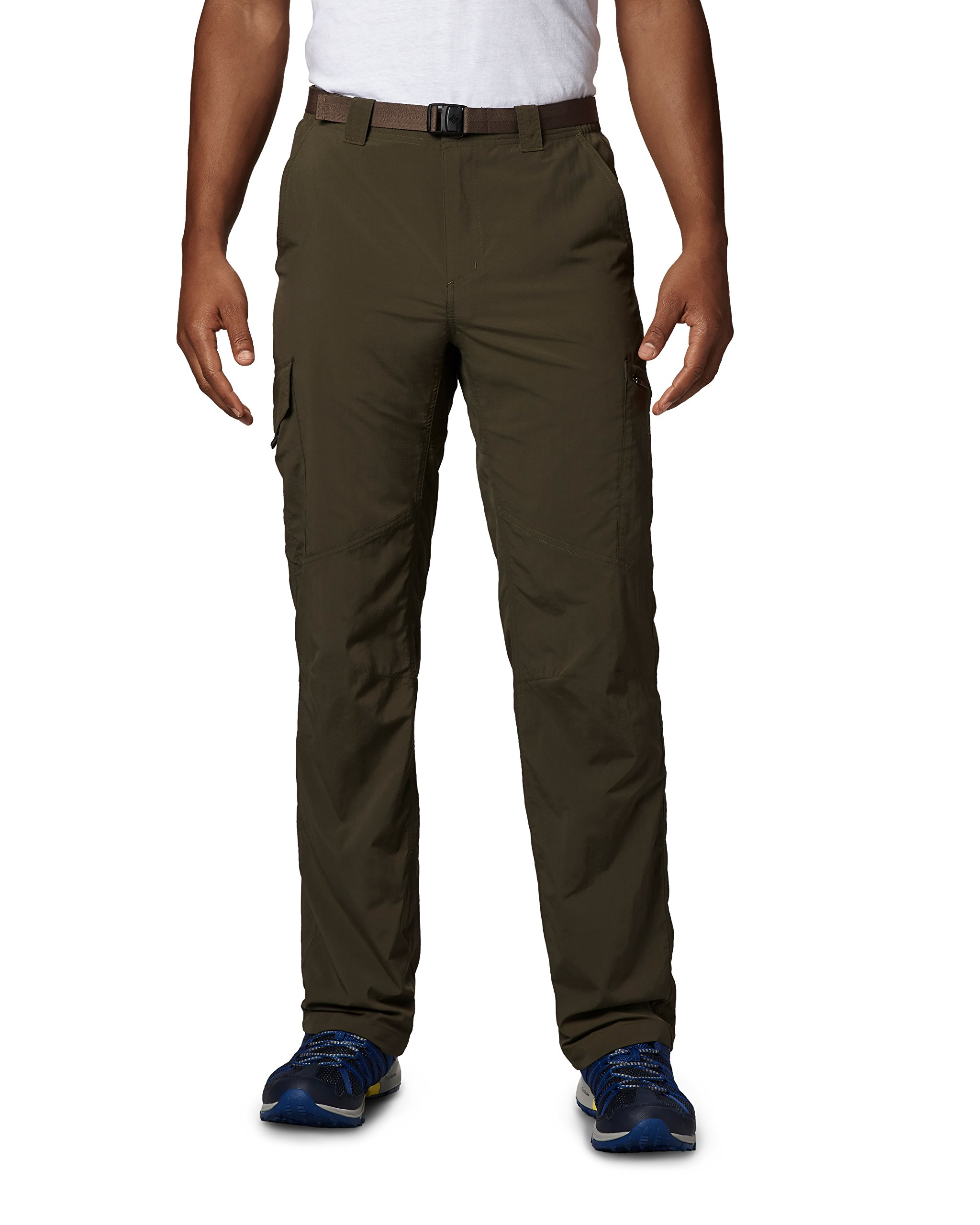 Columbia Silver Ridge Cargo Pant, Peat Moss, 34'' x 34'' by Columbia