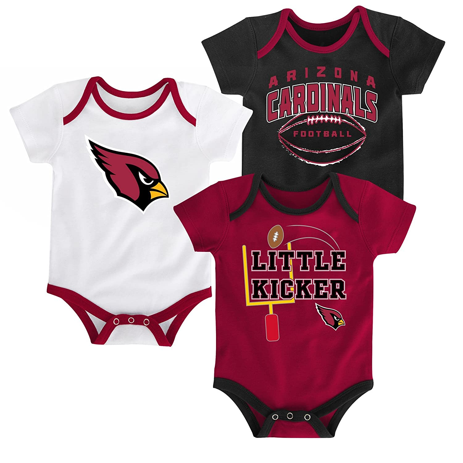 55675e9ef Outerstuff NFL Newborn Infants Newest Fan 3 Piece Creeper Bodysuit Set Baby  Clothing Fan Shop