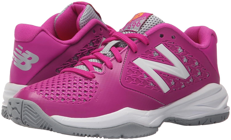 acbc7d6833255 New Balance KC996 Youth Tennis Shoe (Little Kid/Big Kid), Pink, 5 M ...