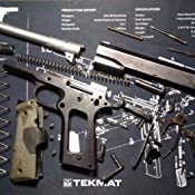 Amazon Com Tekmat Gun Cleaning Mat For Use With 1911