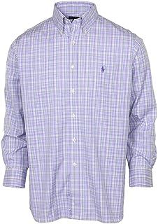 54434498a RALPH LAUREN Polo Men's Slim Fit Easy Care Spread Collar Pony Logo Dress  Shirt