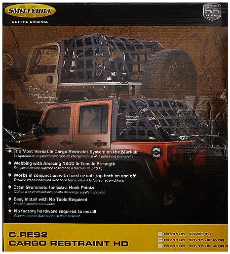 c05f13c7bd1 Amazon.com  Smittybilt 571135 C-RES  2 HD  Trail Net  Automotive