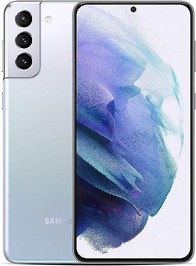 Samsung Galaxy S21+ Dual SIM, 128GB 8GB RAM 5G, Phantom Silver + Galaxy Buds Live, Mystic Black + 25W Travel Adapter + 1 Year Samsung Care Plus -…
