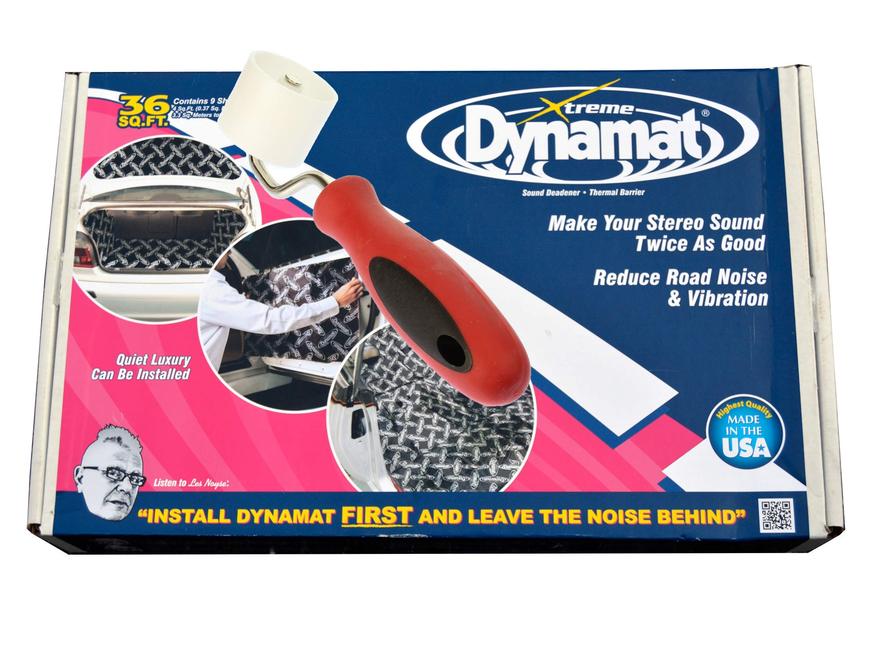 Dynamat Xtreme Bulk Pack 18 Sheets 72FT Roller Extreme + Free Roller