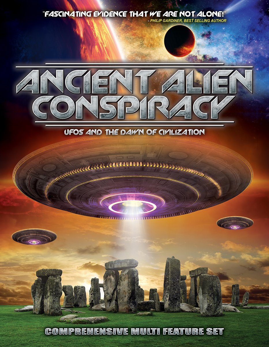 DVD : Ancient Alien Conspiracy: UFOS And The Dawn Of Civilization (DVD)