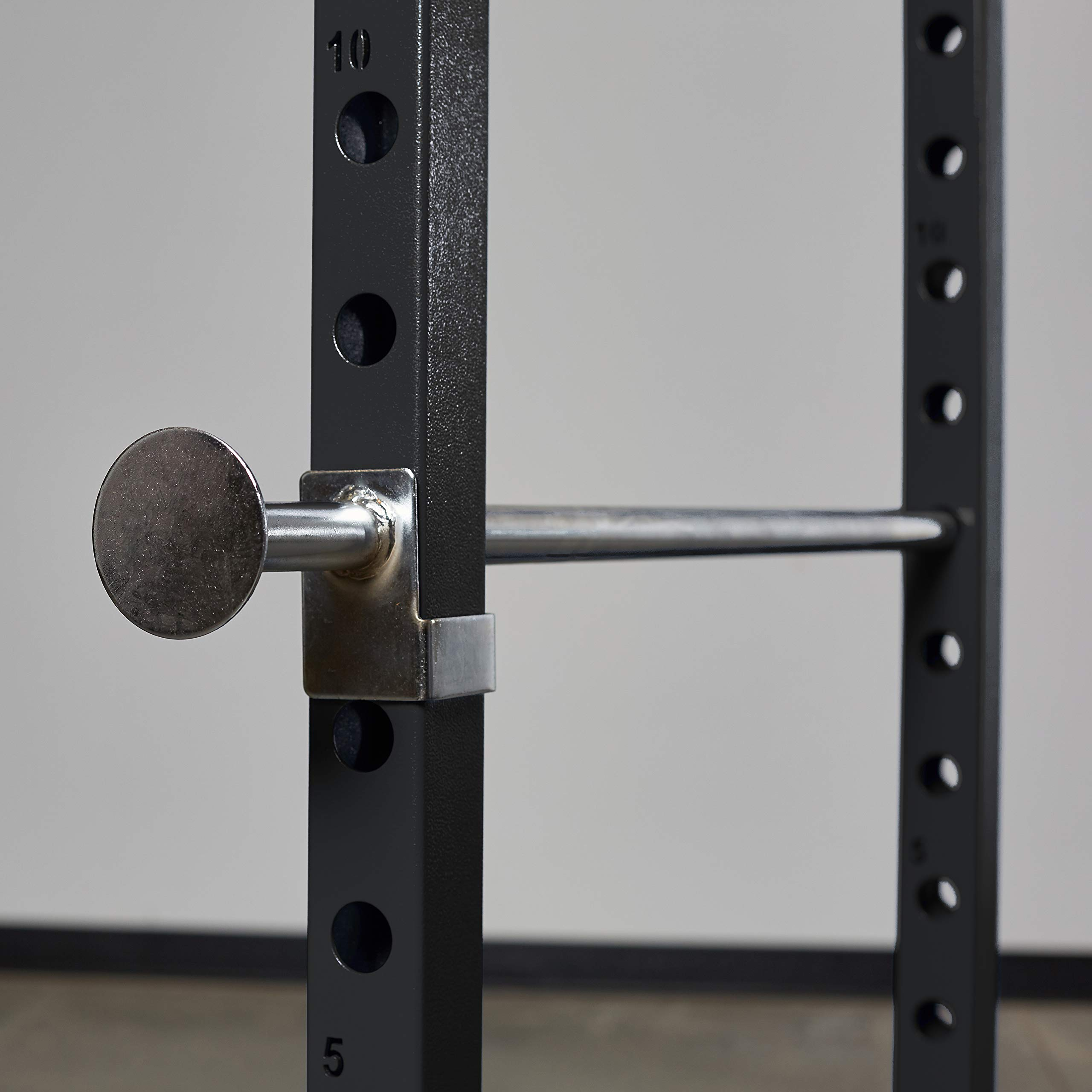 Rep PR-1100 Power Rack - 1,000 lbs Rated Lifting Cage for Weight Training (Metallic Black Power Rack, No Bench) by Rep Fitness (Image #3)