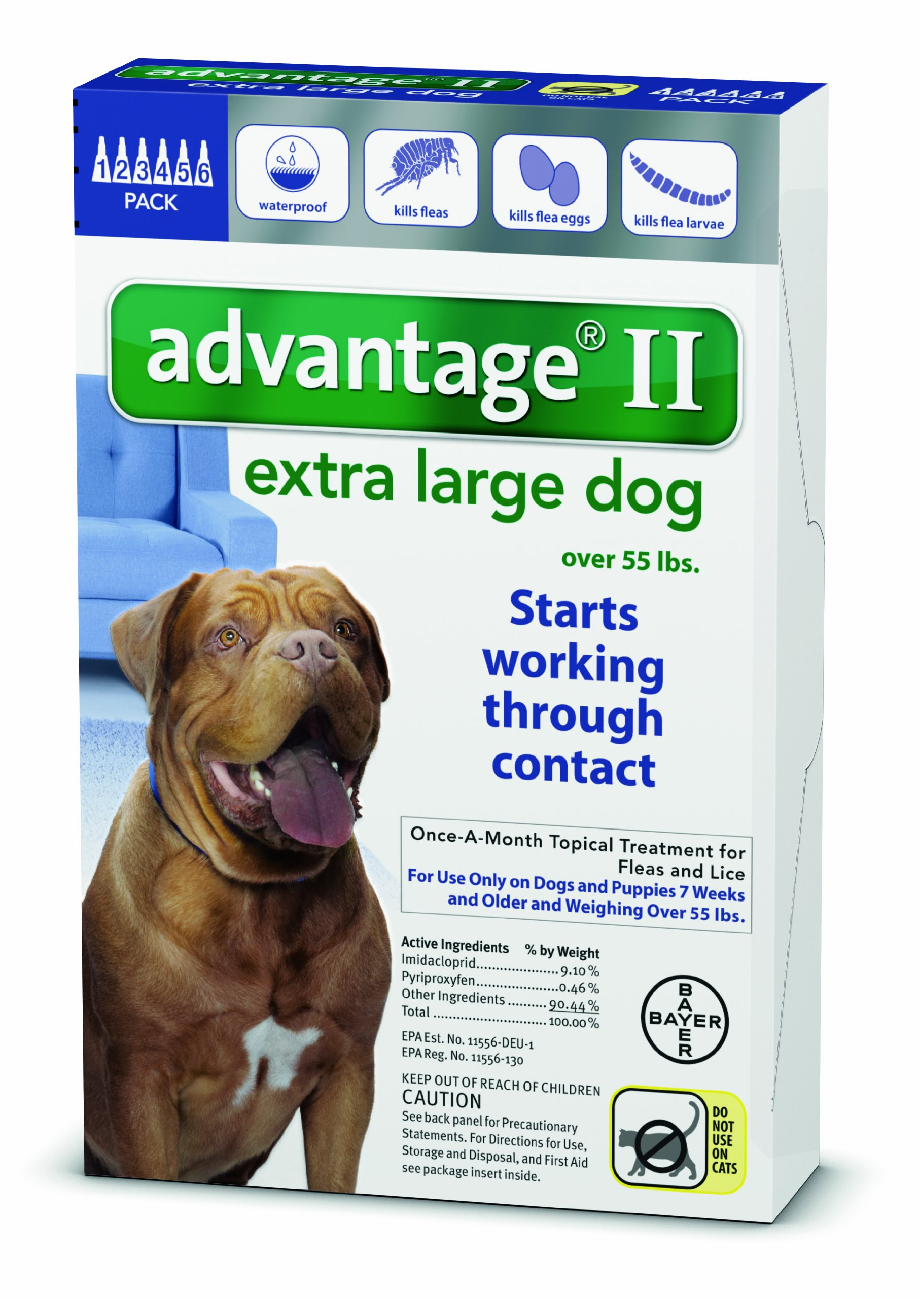 Advantage for Dogs And Puppies Over 55 SKU-PAS784161 by Bayer Animal Health