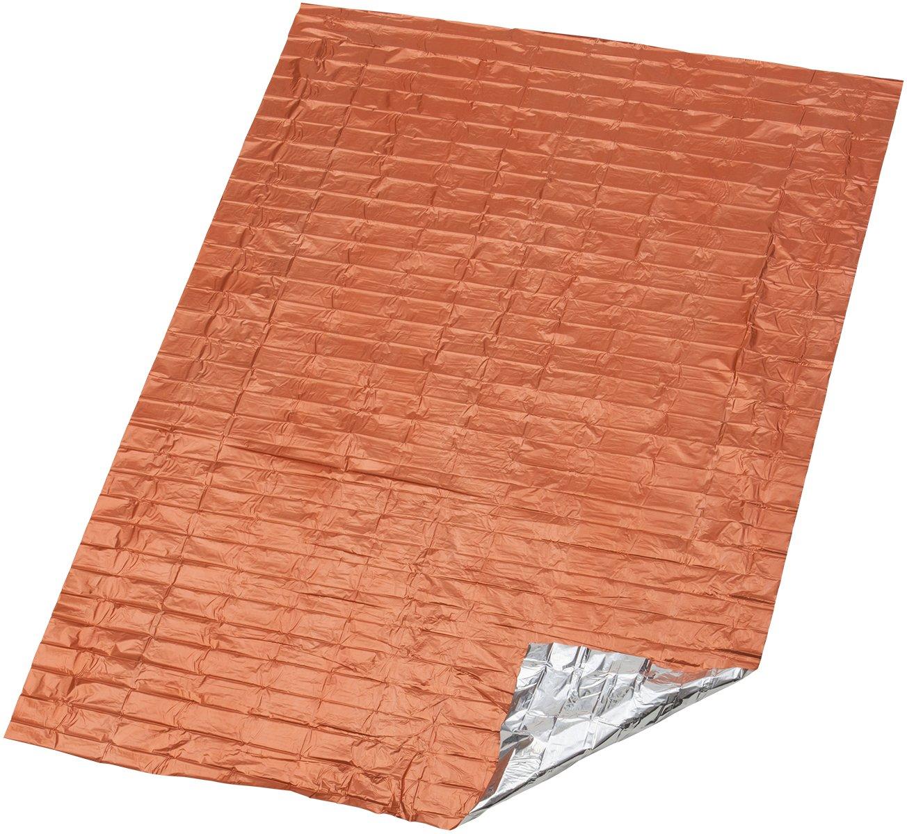 S.O.L. Survive Outdoors Longer 90 Percent Heat Reflective Emergency Blanket Adventure Medical Kits BMC0140-1222