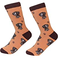 German Shorthaired Pointer Dog Breed Socks Unisex Sock Daddy by E&S Pets