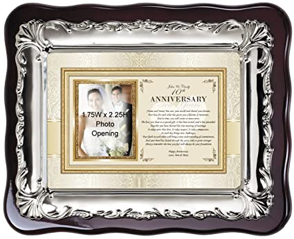 Amazon.com - Anniversary Picture Frames and Gifts for Parents ...