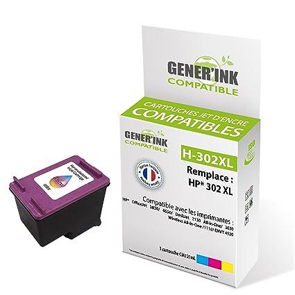 Generink F6U67AE/N ° 302 x l cartucho de tinta compatible con ...