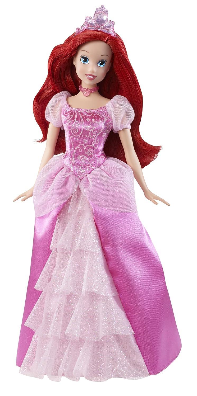 amazon com disney princess sparkling princess ariel doll 2011