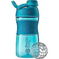 BlenderBottle Sportmixer Twist Tritan / Proteïne/Fitness Shaker met BlenderBall (BPA-vrij), 590 ml - teal
