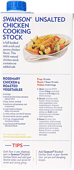 Amazon swanson unsalted chicken stock 32 oz grocery amazon swanson unsalted chicken stock 32 oz grocery gourmet food forumfinder Choice Image