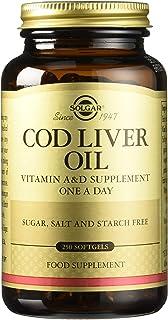 Solgar Aceite de hígado de bacalao Cápsulas blandas - Envase ...