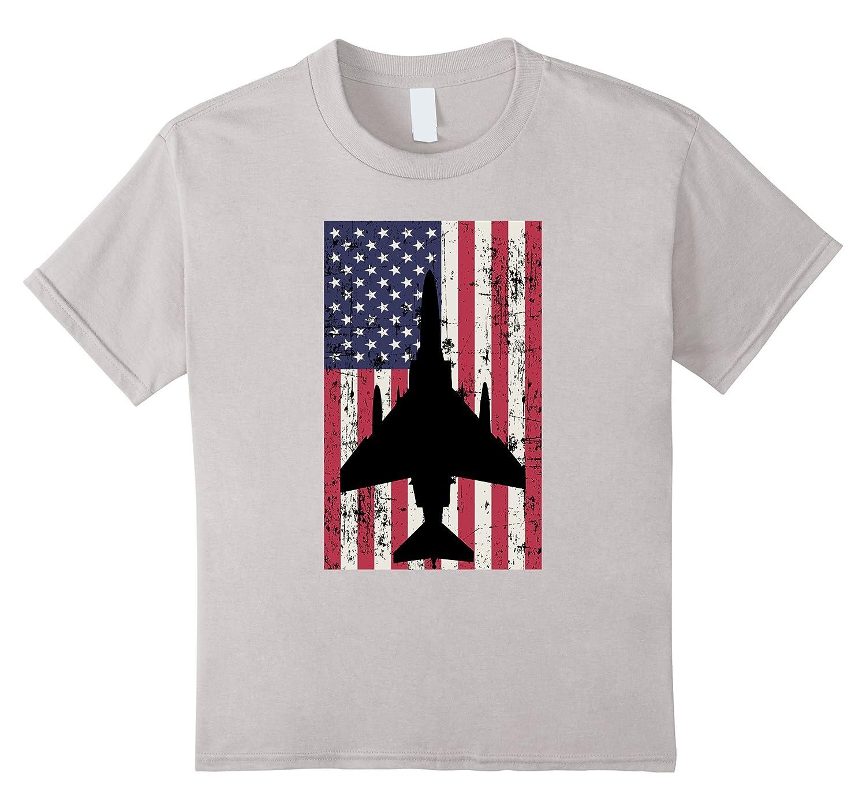 Patriotic Phantom American t shirt Heather-Veotee