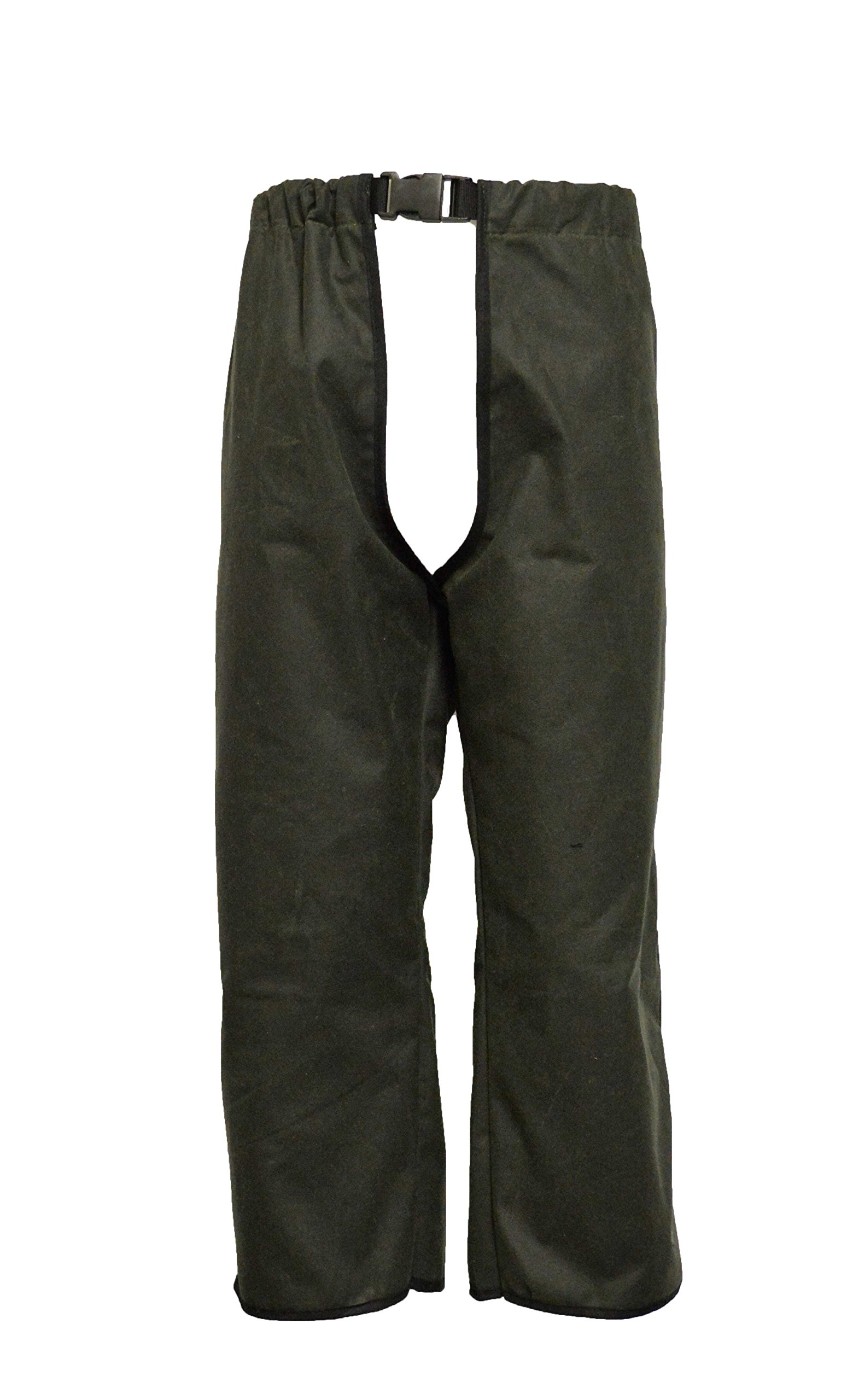 Walker and Hawkes Men's Wax Treggings Trousers XX-Large Olive