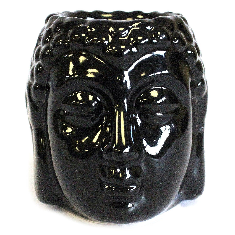 Buddha Oil Burner - Black Ancient Wisdom
