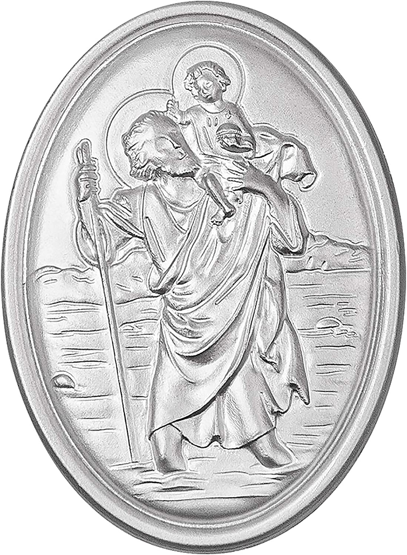 Fritz Cox Schutzpatron Der Reisenden Heiliger Christophorus Als Schlüsselanhänger Und Medaille Medaille Auto