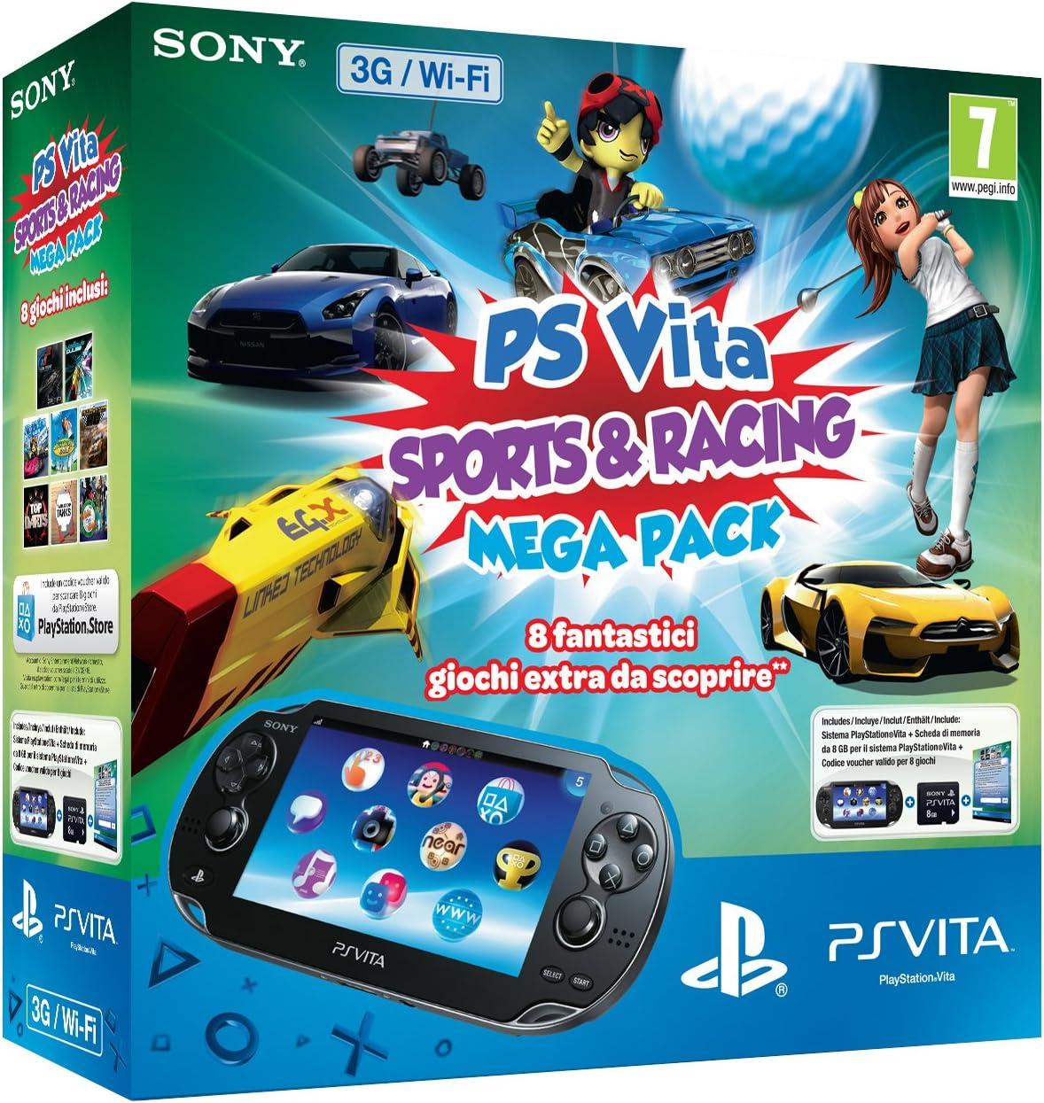Sony PS Vita 8GB + Mega Pack SR - videoconsolas portátiles ...