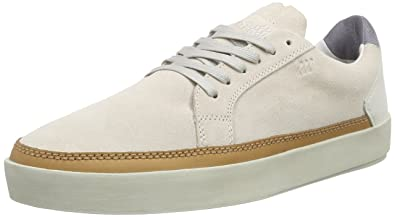 Civik UG SDE/Lea Off WHT/STL Gry, Mens Low-Top Sneakers Boxfresh