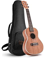 Hricane Tenor Ukulele UKS-3 26inch Professional Ukulele Starter Small Guitar Hawaiian Guitar Bundle with Gig Bag