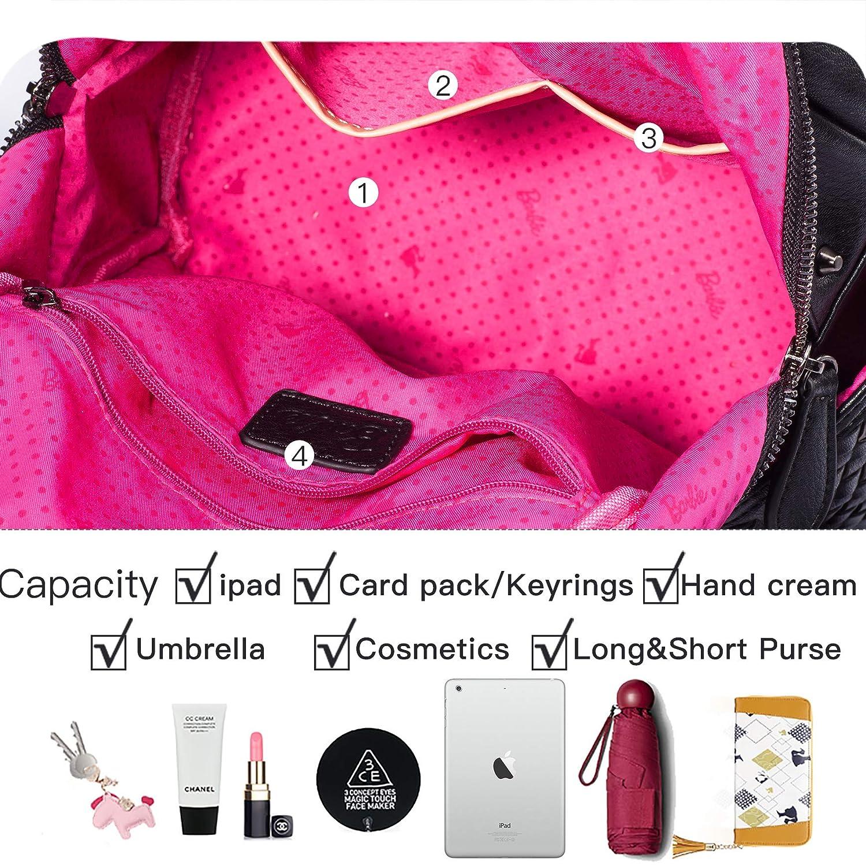 Barbie mochila simple elegante para mujeres bolso princesa moderno mochila al hombro multifuncional bolso fino: Amazon.es: Zapatos y complementos