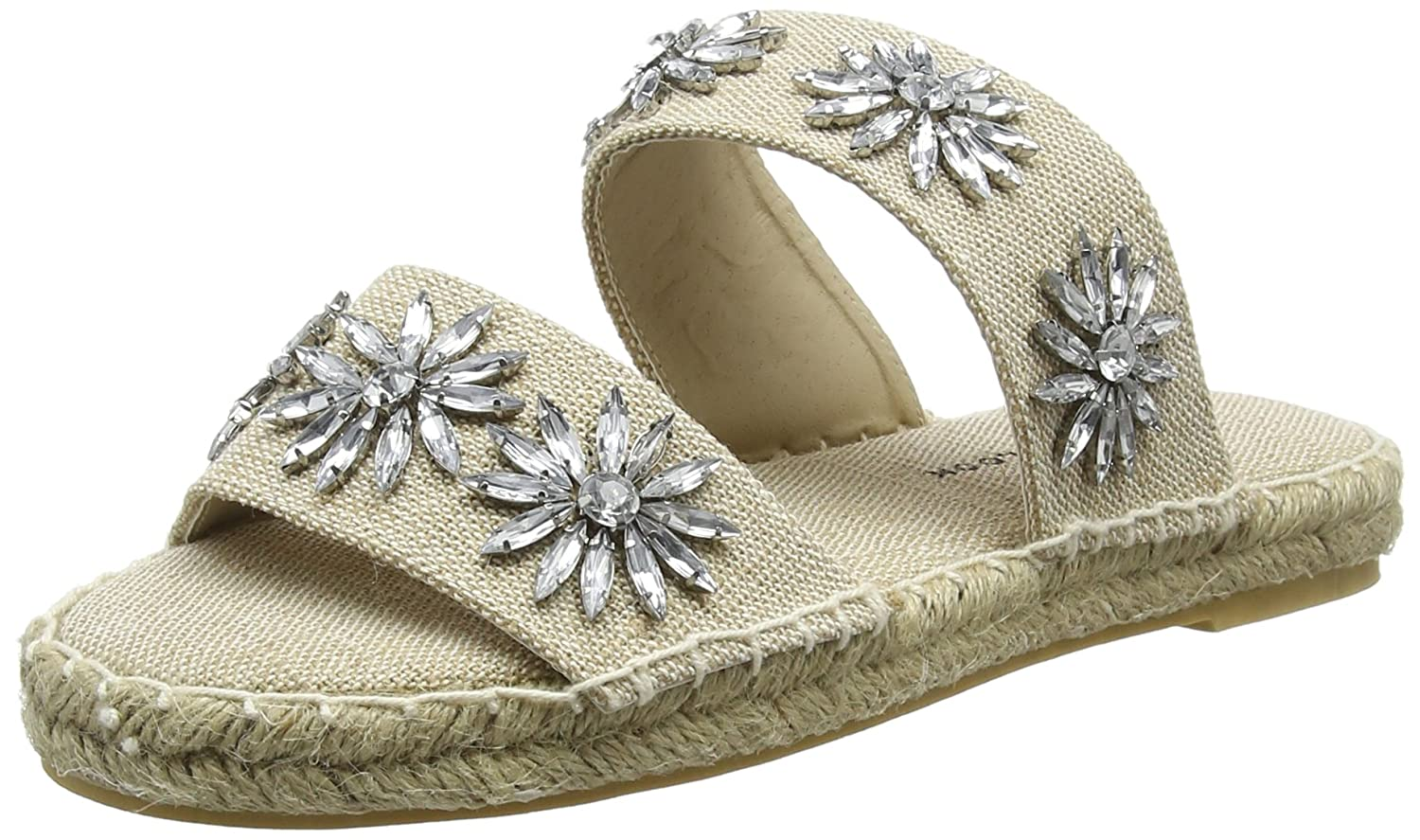 New Look Ideal, Ideal, Look Espadrillas Donna Bianco (Off White 12) a10268