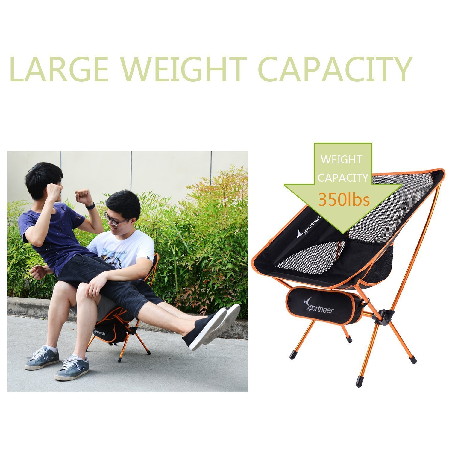 Camping Chair Sportneer Portable Lightweight Folding Chair for