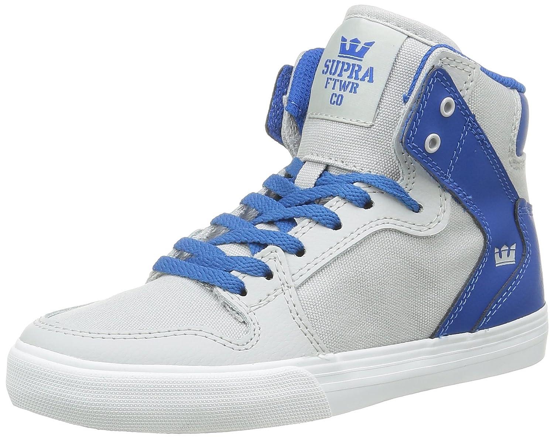 Supra Mens Skytop III Shoes 3.5 M US|Lightgrey Blue White
