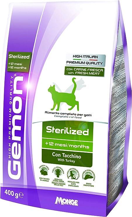 Gemon Gato Light Sterility Tacc. Gr 400: Amazon.es: Productos para mascotas
