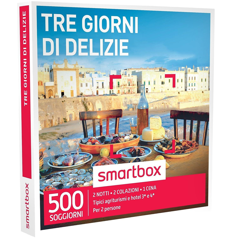 Smartbox Cofanetto Regalo - TRE GIORNI DI DELIZIE - 500 soggiorni di ...