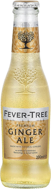Fever-Tree Ginger Ale 4 x 200 ml (Pack of 6, Total 24 Bottles ...
