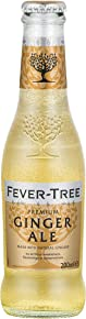 Fever-Tree Premium Ginger Ale, 6.8 Ounce Glass Bottles (Pack of 24)