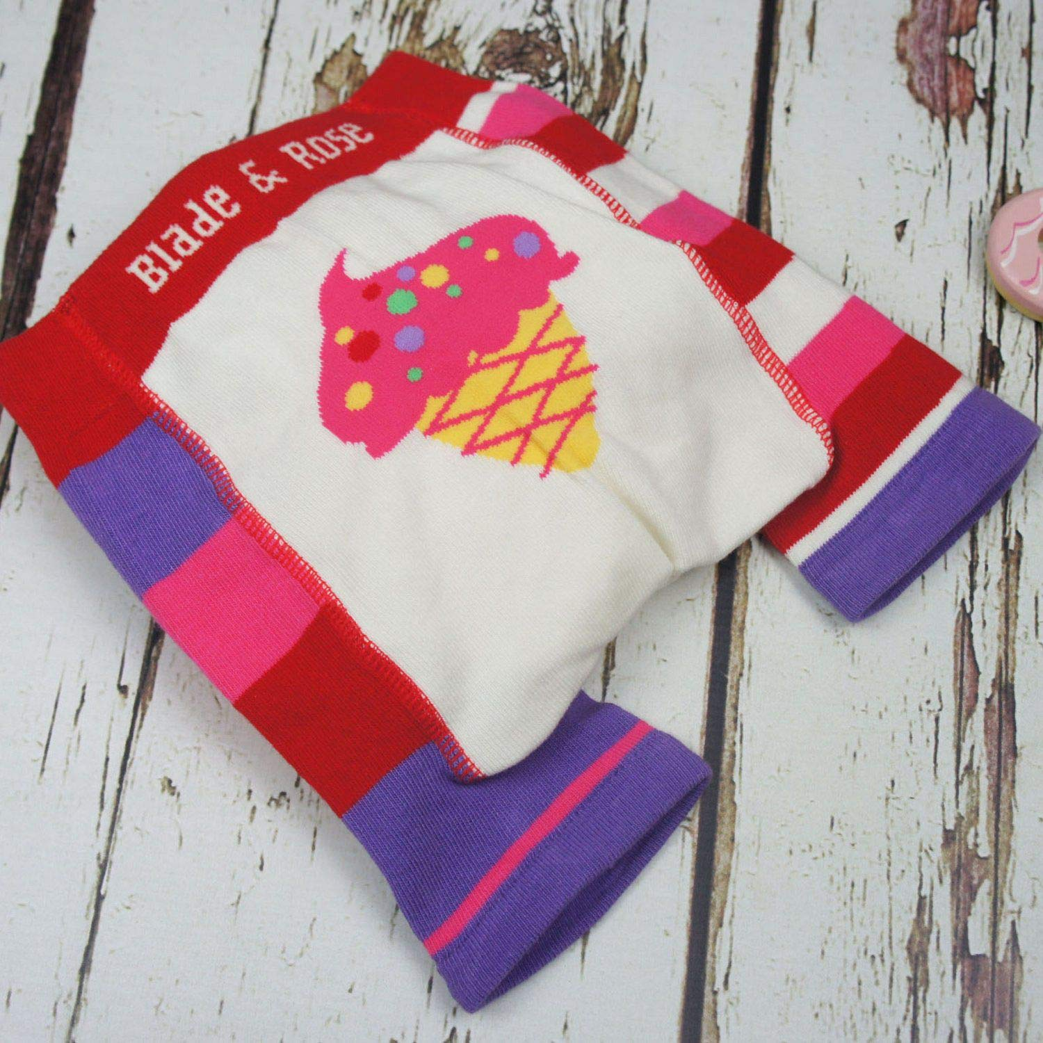 Blade and Rose 20410 Ice Cream Summer Shorts 06-12 Months