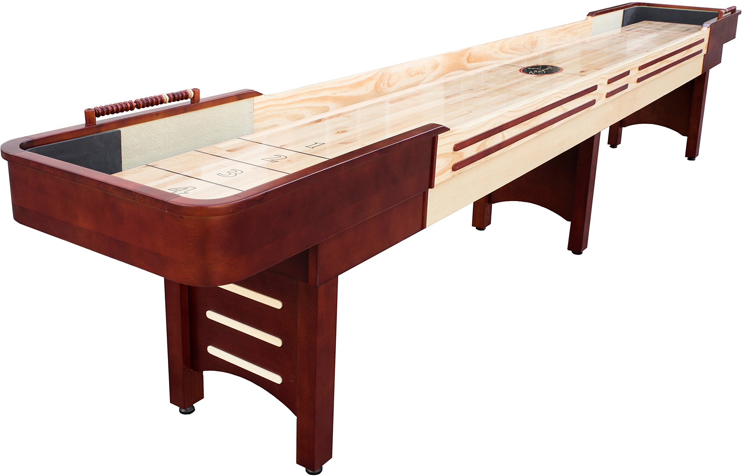 Playcraft Coventry Shuffleboard Table, Cherry, 16-Feet by Playcraft