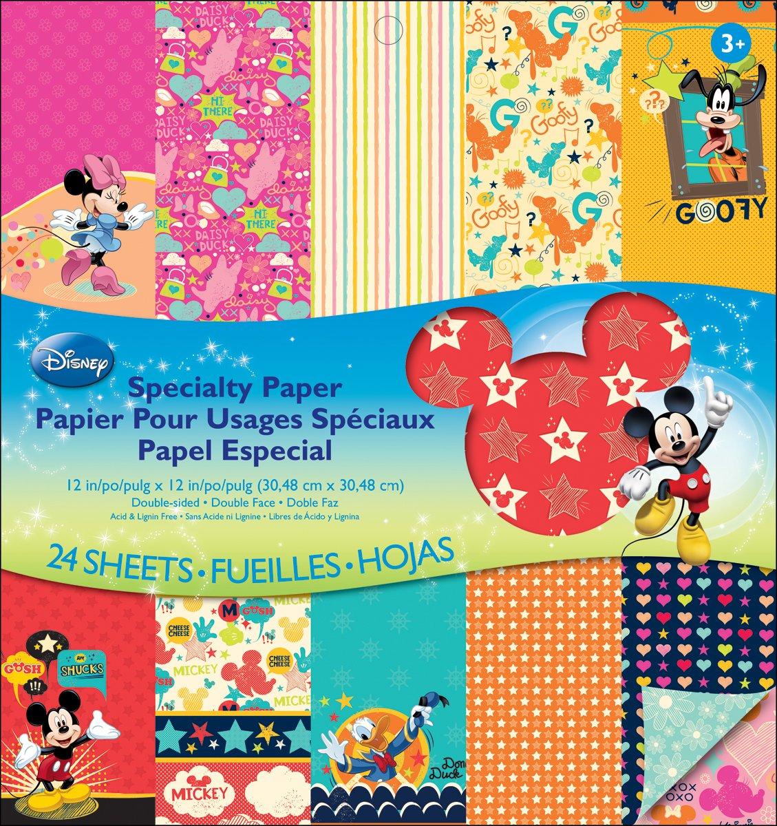 EK Success Disney Specialty Paper Pad Mickey Family
