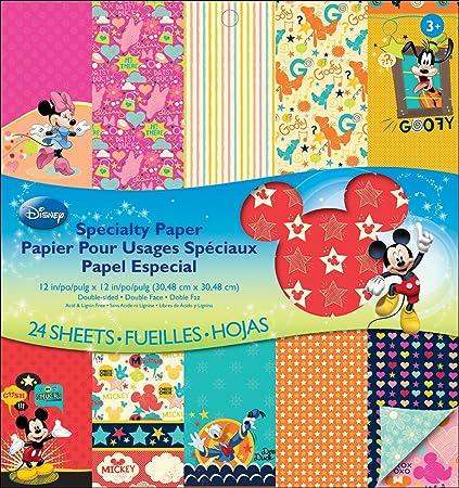 Amazon Ek Success Disney Specialty Paper Pad Mickey Family