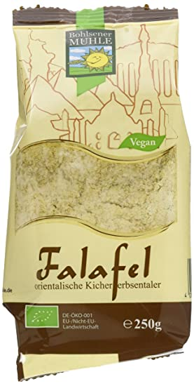 Bohlsener Mühle Falafel Mischung,6er Pack (6x 250 g) - Bio