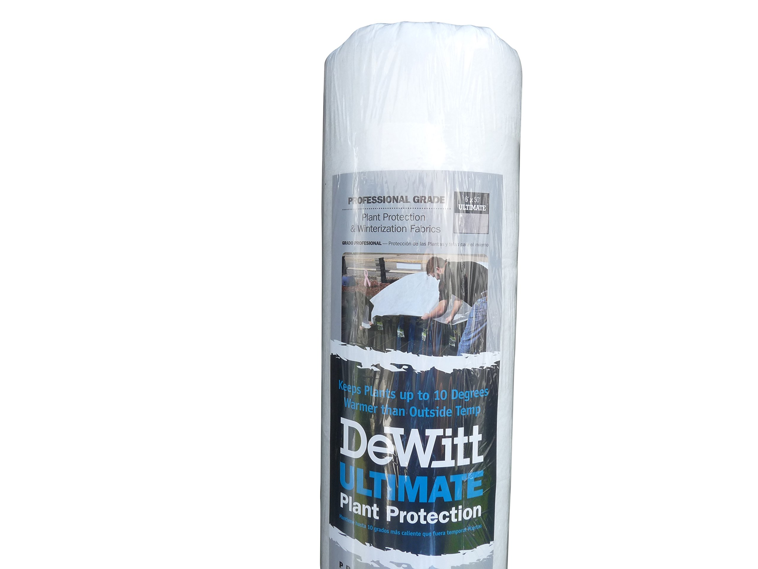 DeWitt Ultimate 2.5 oz 6' x 50' Plant Frost Protection Cloth Freeze Blanket Ultimate650 72'' x 600''