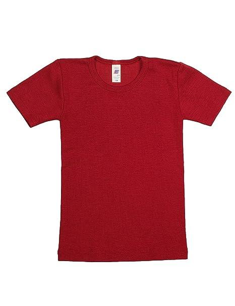 Engel Axil - Ángel camiseta manga corta lana seda tamaño 92 - 176: Amazon.es: Ropa y accesorios