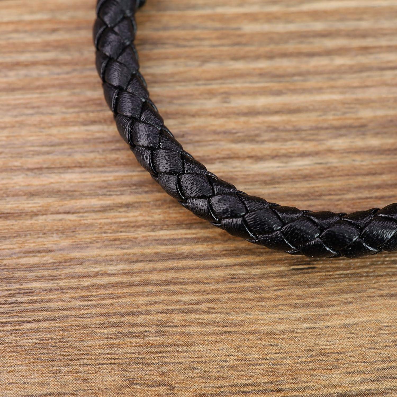 coai Bracelet Cordon Cuir Pierre Homme