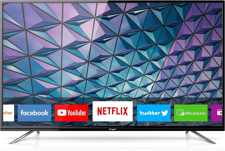 Engel LE5580SM - Smart TV LED 4K UHD, Color Negro: Amazon.es ...