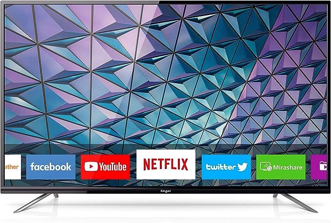 Engel LE5580SM - Smart TV LED 4K UHD, Color Negro: Amazon.es: Electrónica
