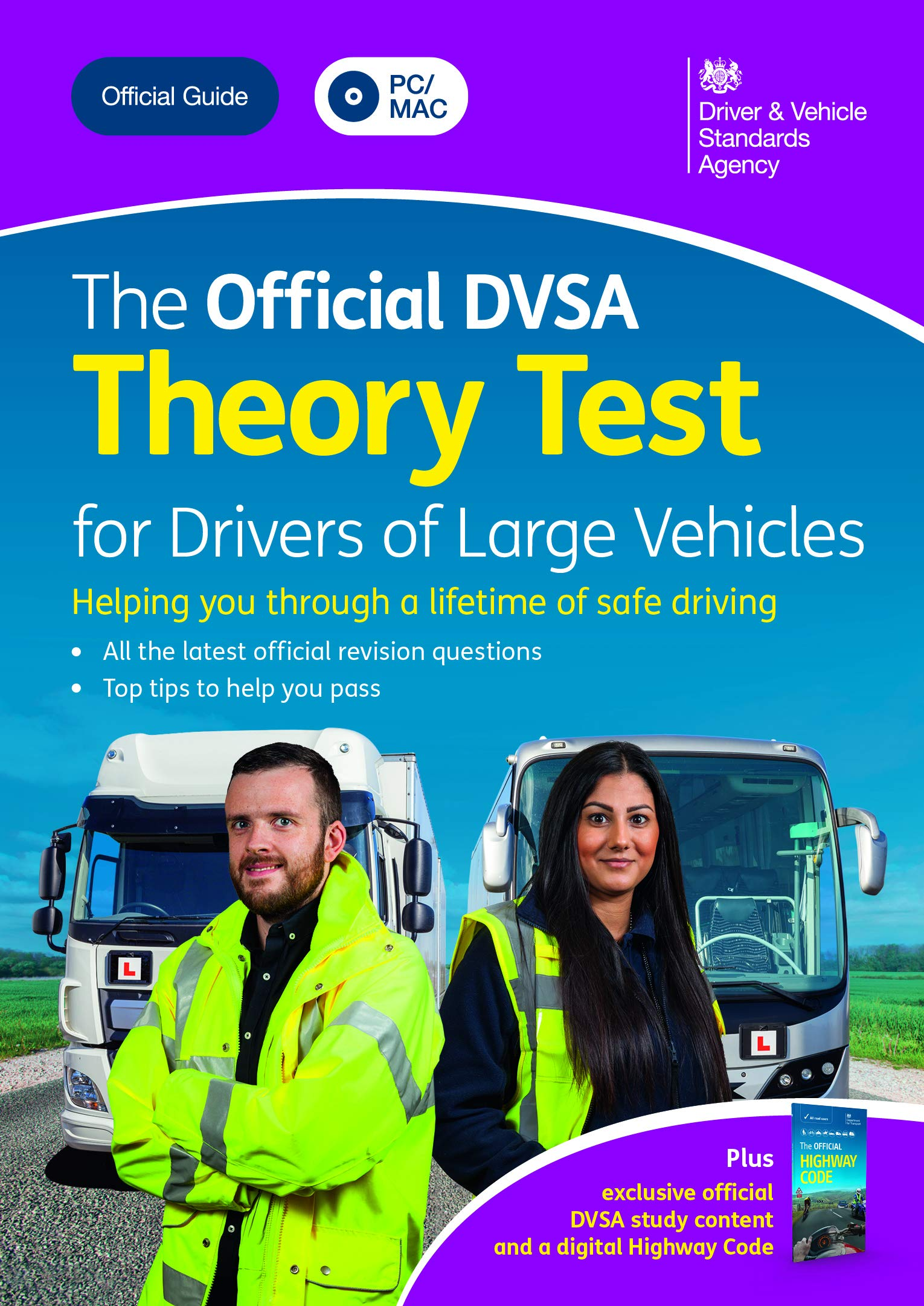 the official dvsa theory test for large vehicles download free