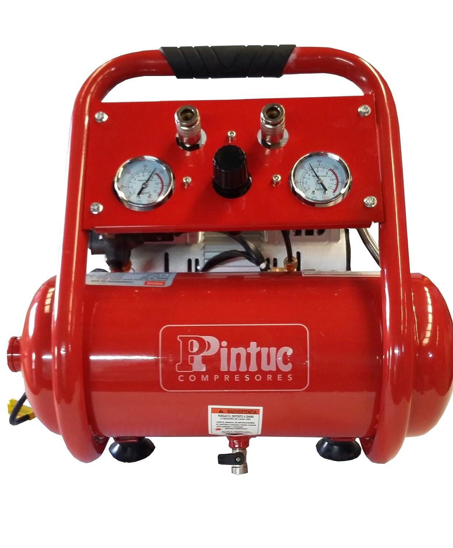 Compresor Portátil Silencioso Italiano Pintuc Modelo SIL 750/9 - Novedad: Amazon.es: Bricolaje y herramientas