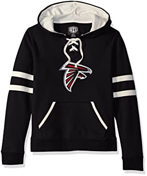 size 40 d0a67 ac2f1 NFL Women's OTS Grant Lace Up Pullover Hood
