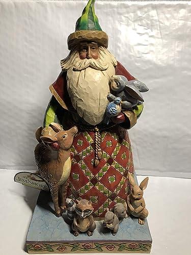 Santa with Animals